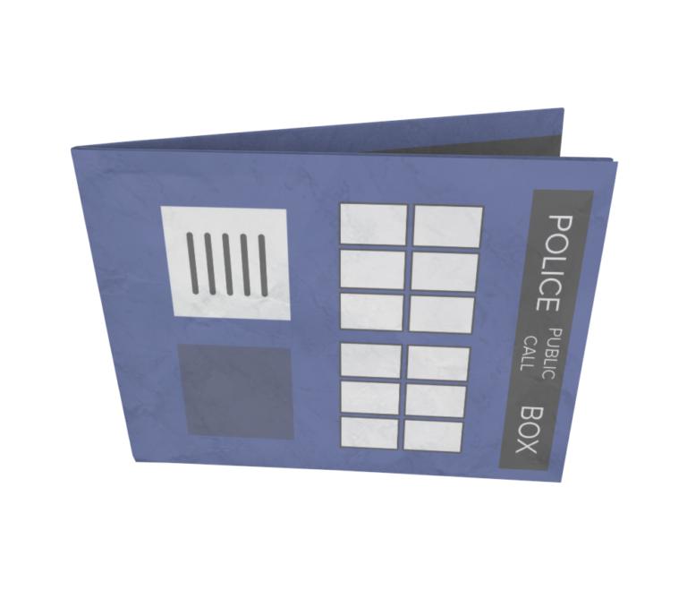 dobra - Nova Carteira Clássica - The Blue Box