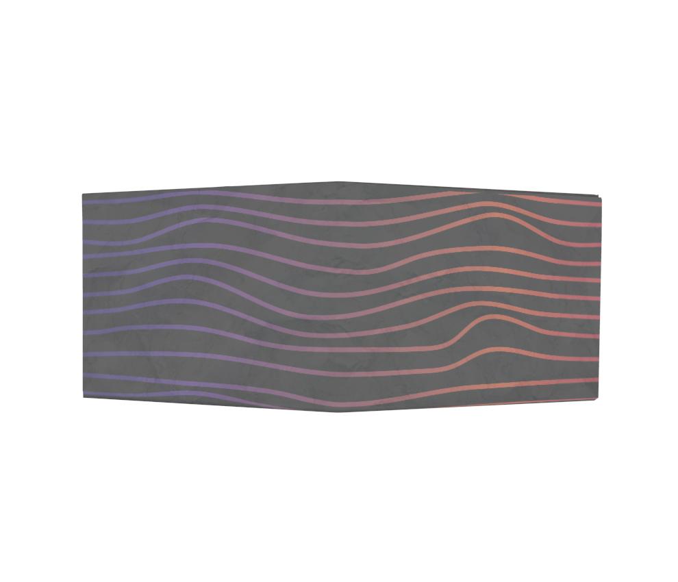 dobra - Nova Carteira Clássica - Waves Black