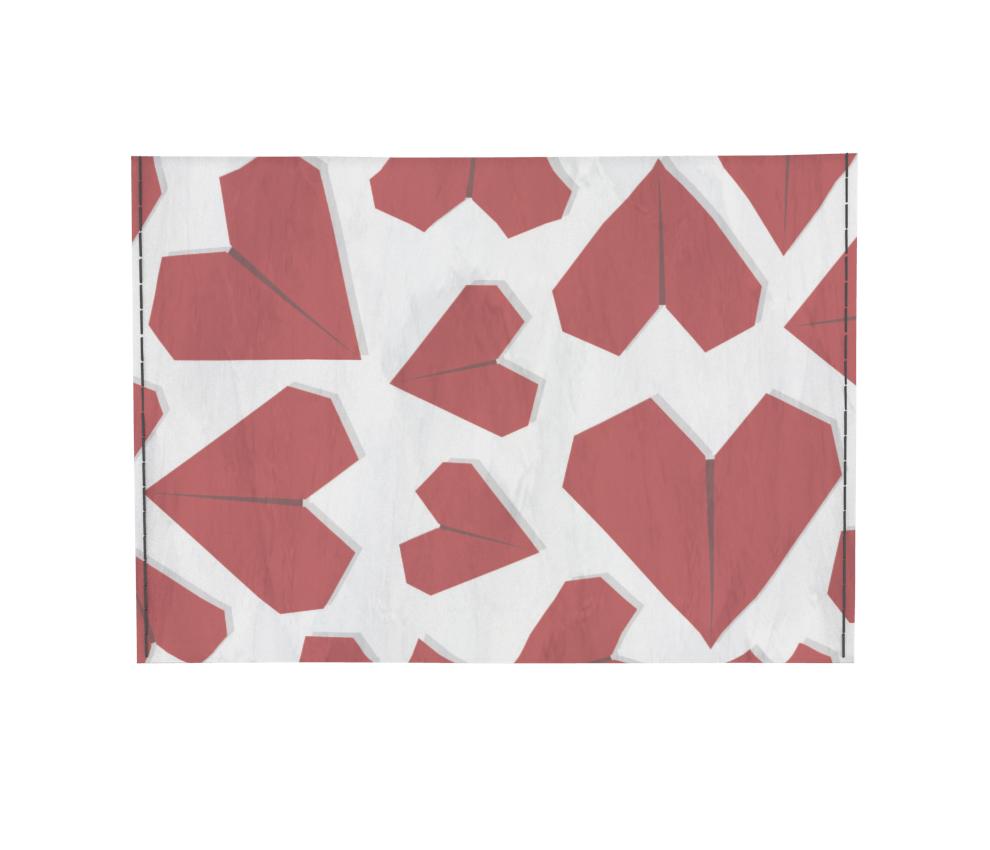 dobra - Porta Cartão - Coração de Papel