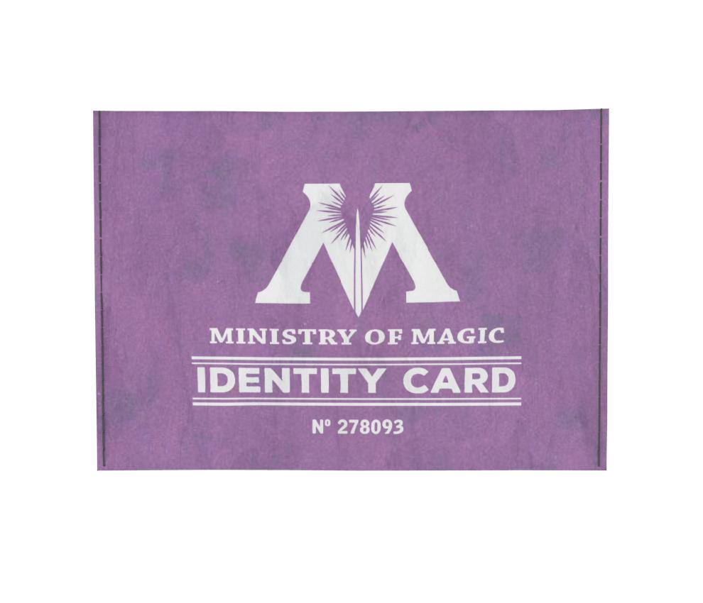 dobra - Porta Cartão - Ministério da Magia