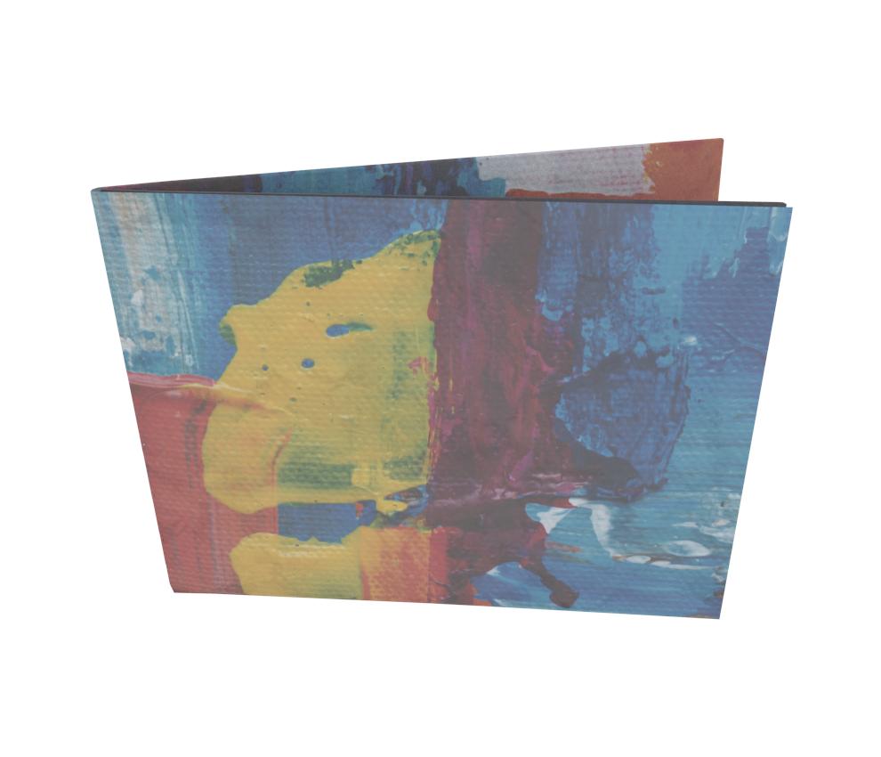 dobra - Nova Carteira Clássica - Cores Abstratas