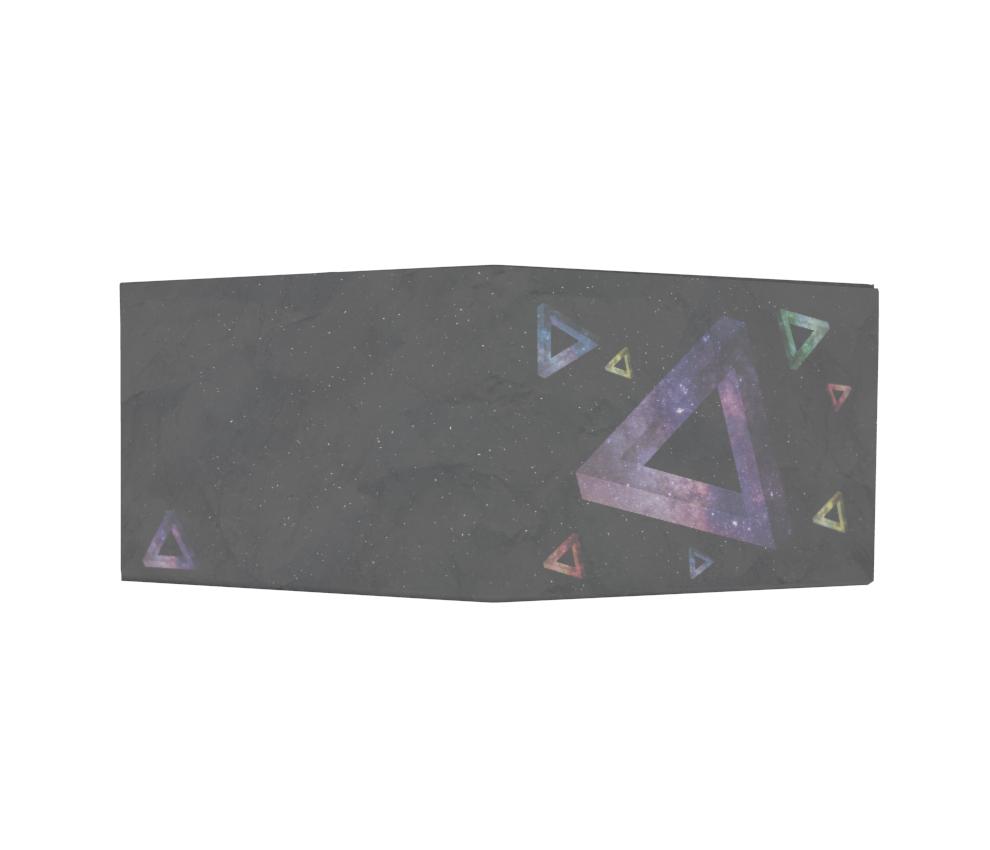 dobra - Nova Carteira Clássica - Impossible Triangle - Space