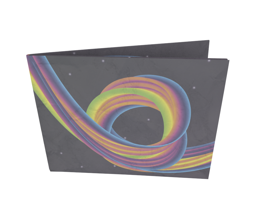 dobra - Nova Carteira Clássica - Rainbow Coaster - Dark