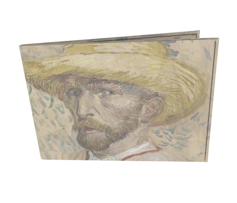 dobra old is cool auto retrato com chapeu de palha