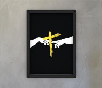 dobra - Quadro - A criação de Deus