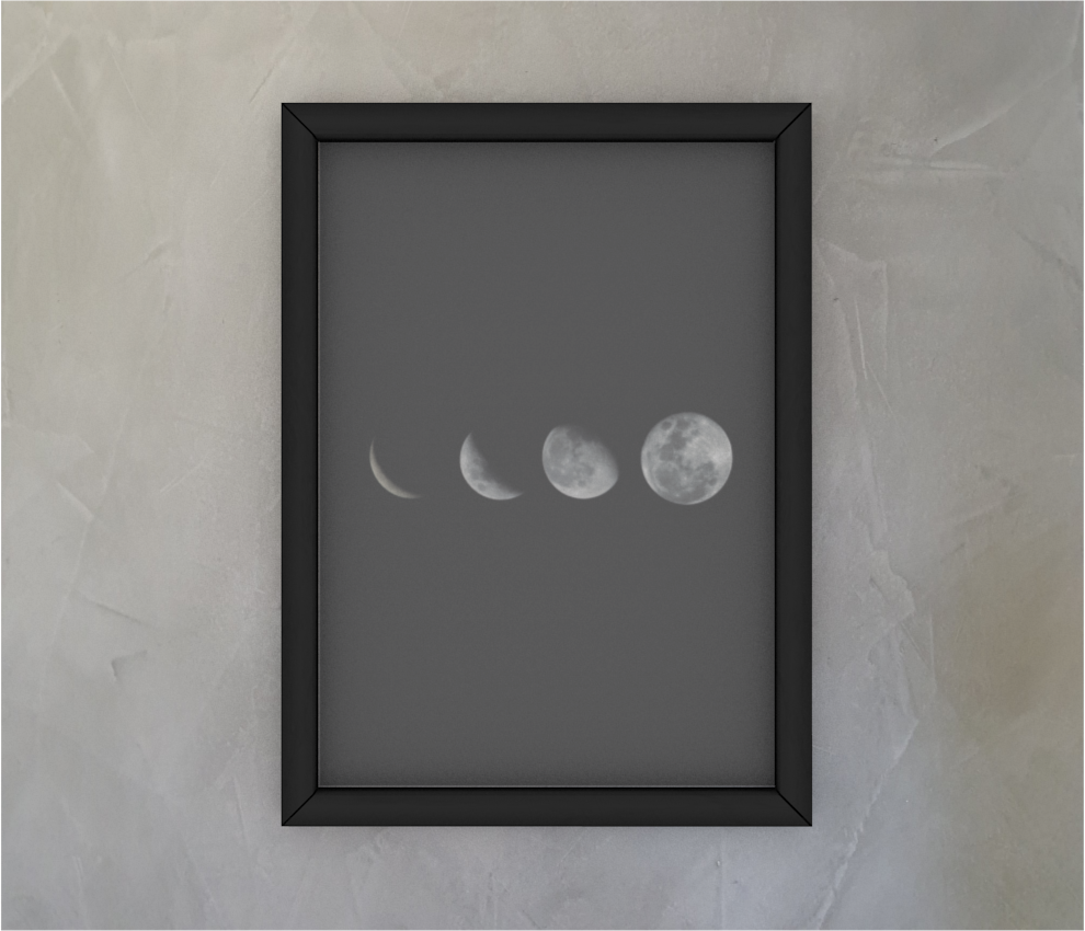 dobra - Quadro - Espetáculo lunar