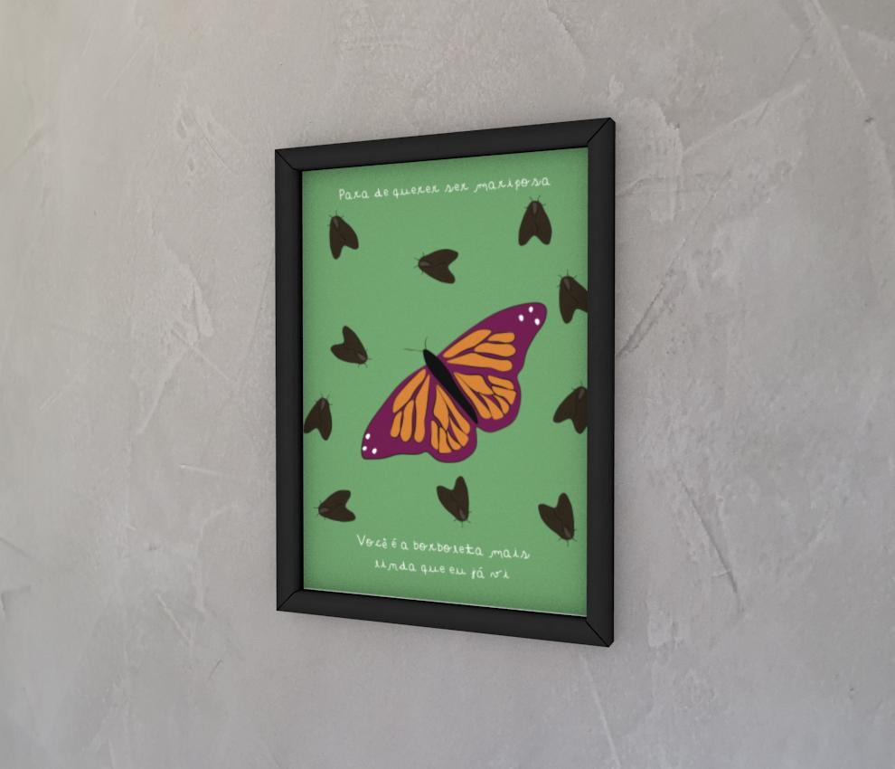 dobra - Quadro - mariposa