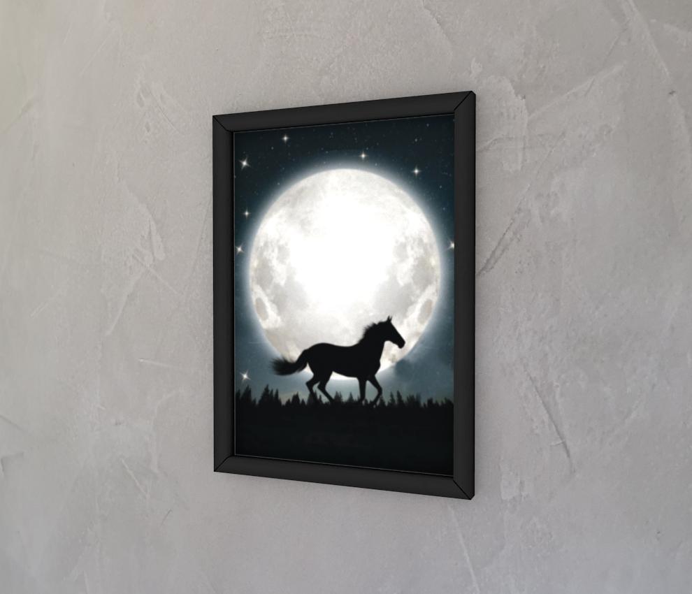 dobra - Quadro - O cavalo e a lua