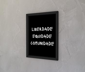 dobra - Quadro - revolução brasileira - preto