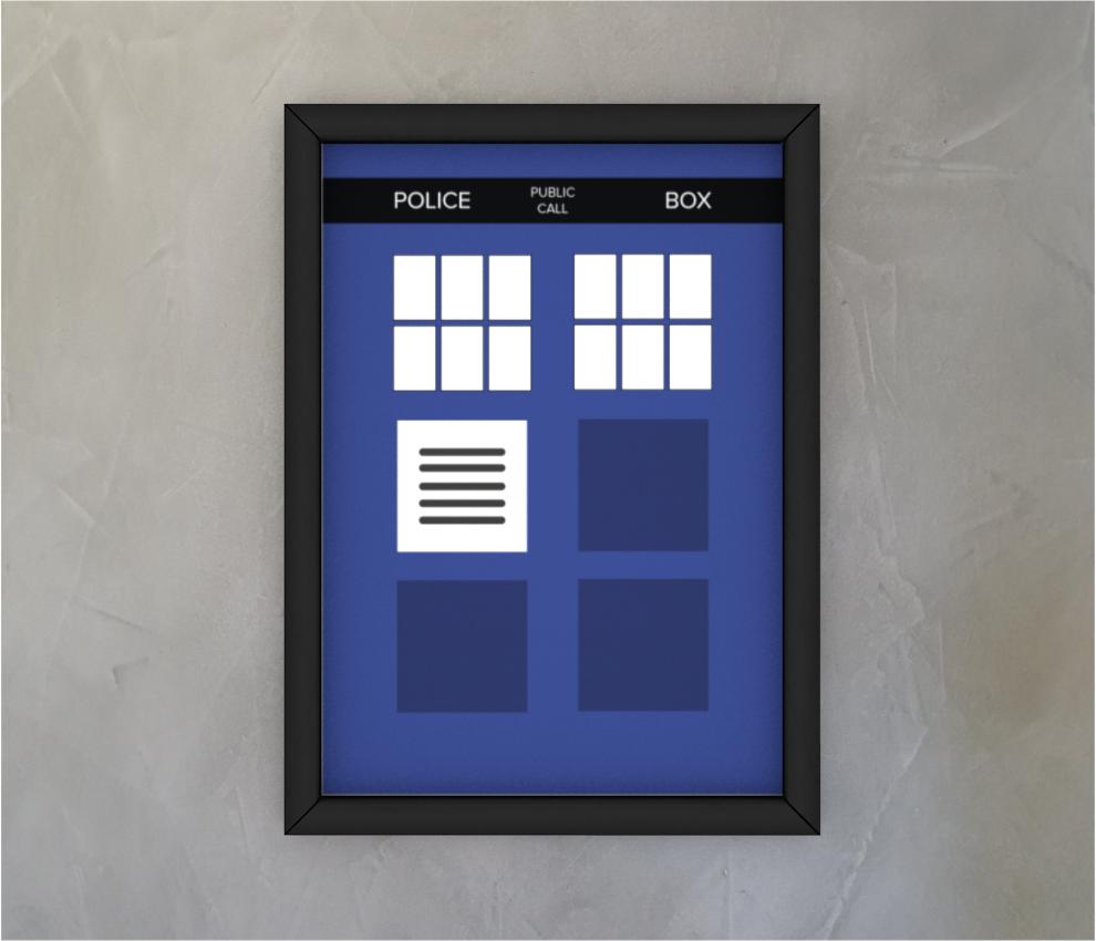 dobra - Quadro - The Blue Box