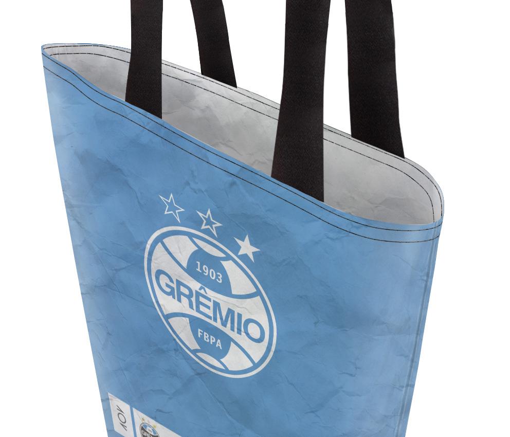 dobra bag azul e branca