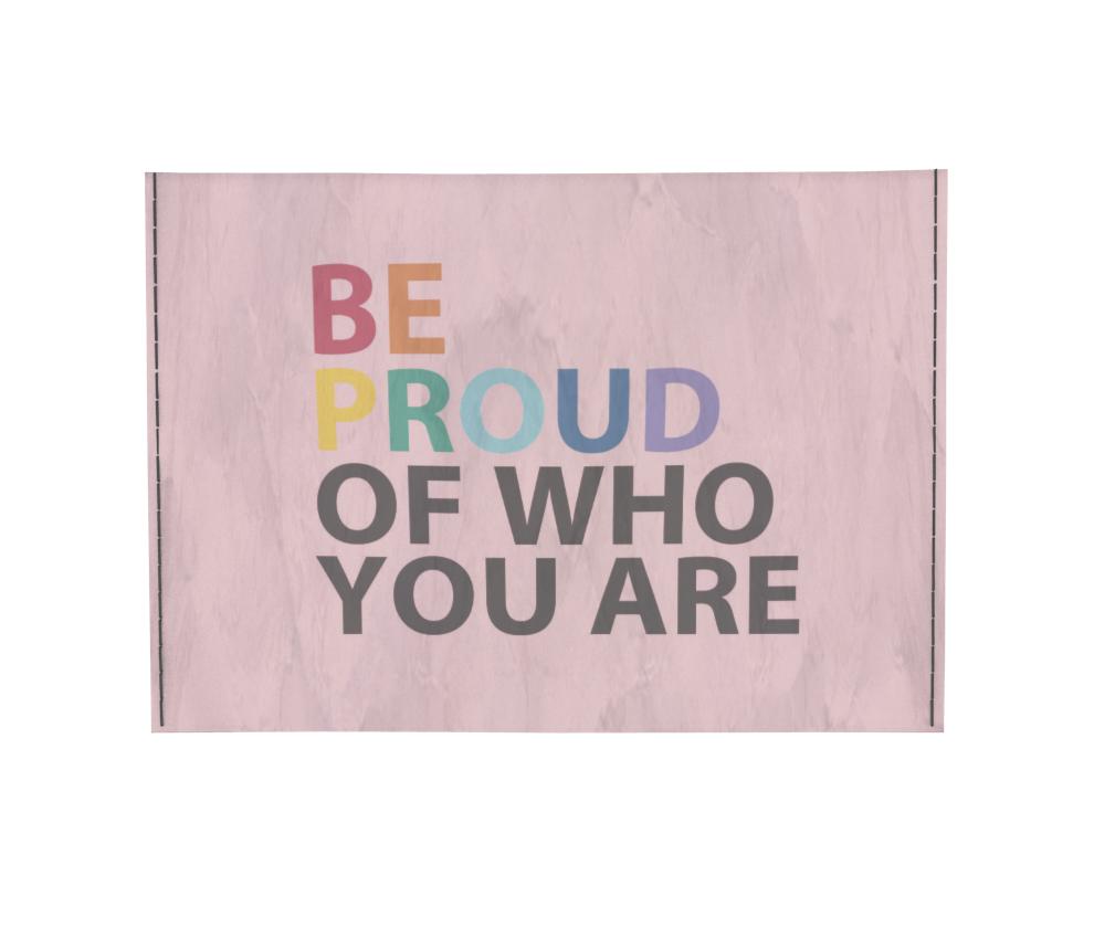 dobra - Porta Cartão - Be Proud Of Who You Are