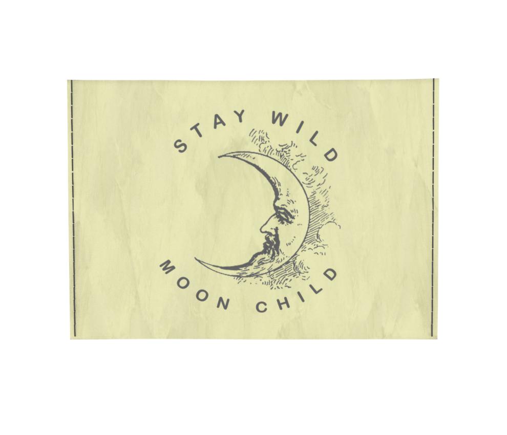 dobra - Porta Cartão - Moon Child