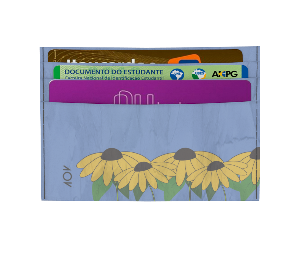 dobra - Porta Cartão - Sunflowers garden