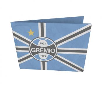 dobra - Nova Carteira Clássica - Grêmio | Bandeira Tricolor