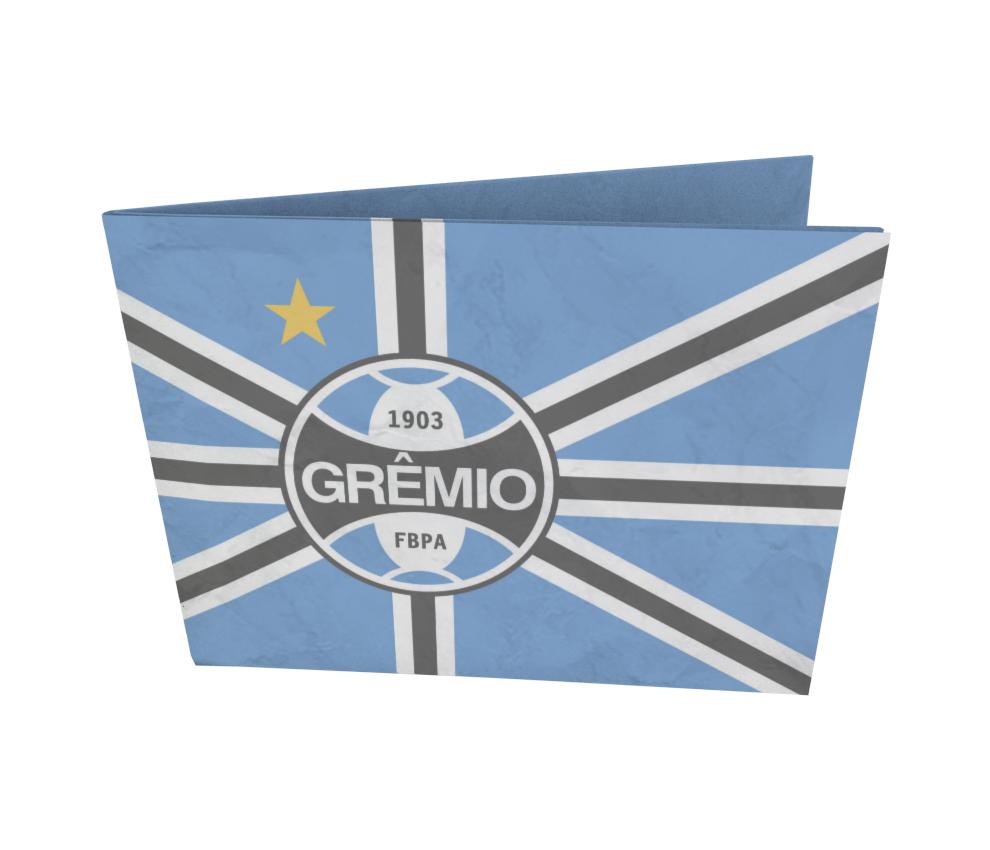 dobra - Nova Carteira Clássica - Grêmio   Bandeira Tricolor
