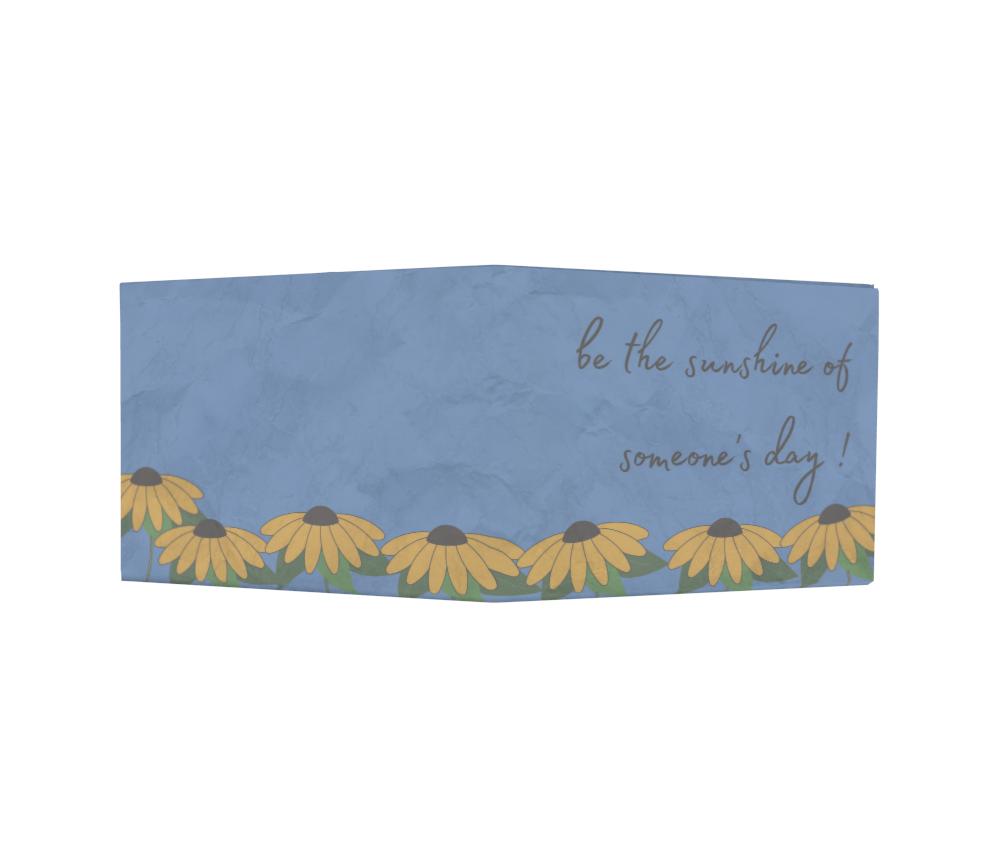 dobra - Nova Carteira Clássica - Sunflowers garden