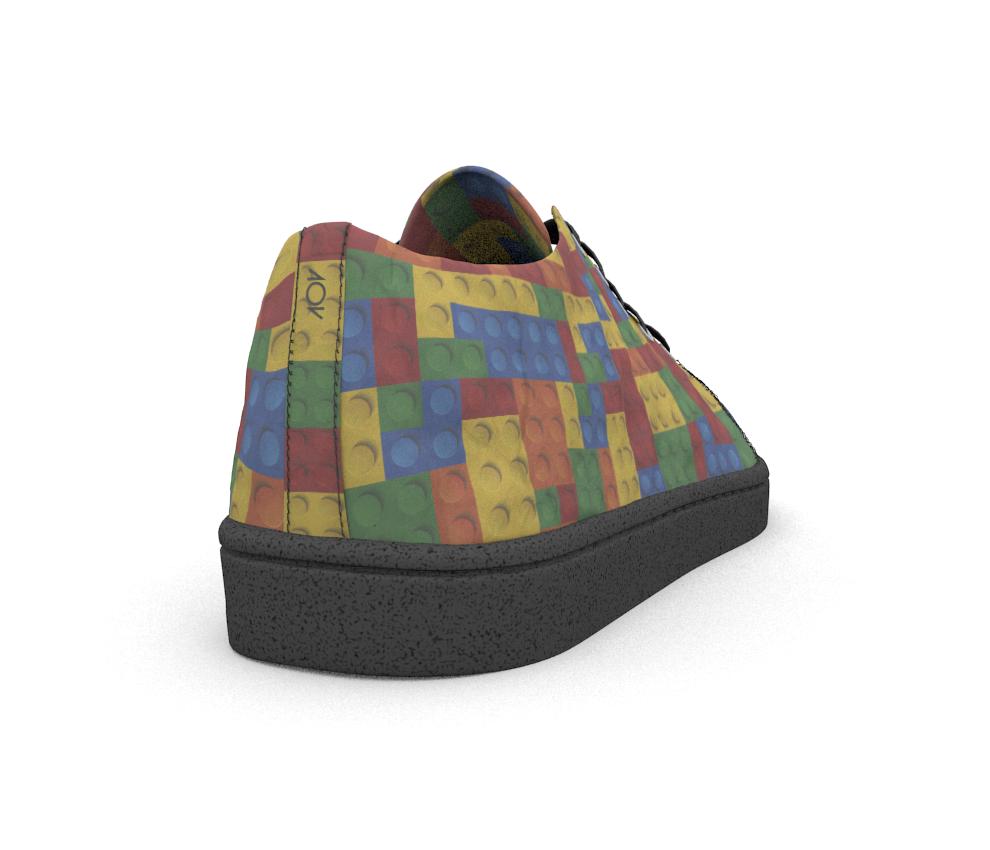 dobra - Tênis - blocos coloridos