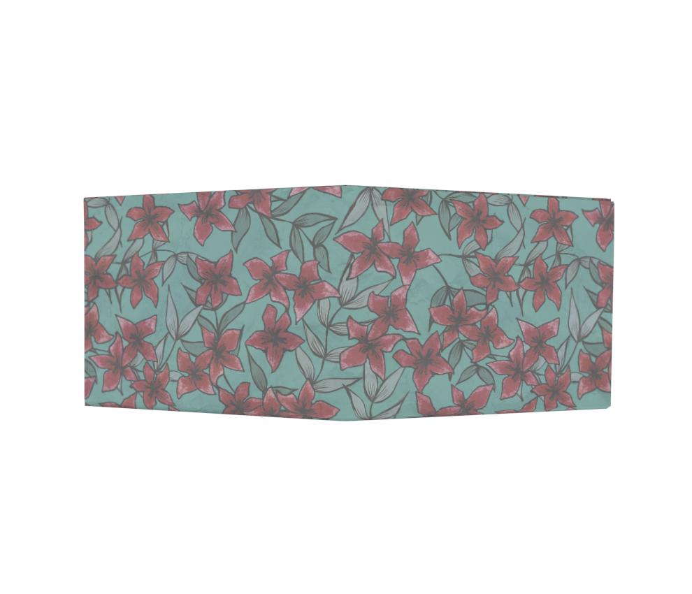 dobra - Nova Carteira Clássica - Petit flor