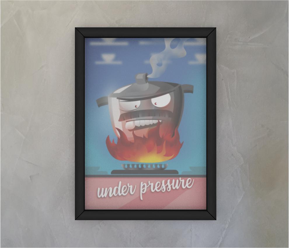 dobra - Quadro - Under pressure