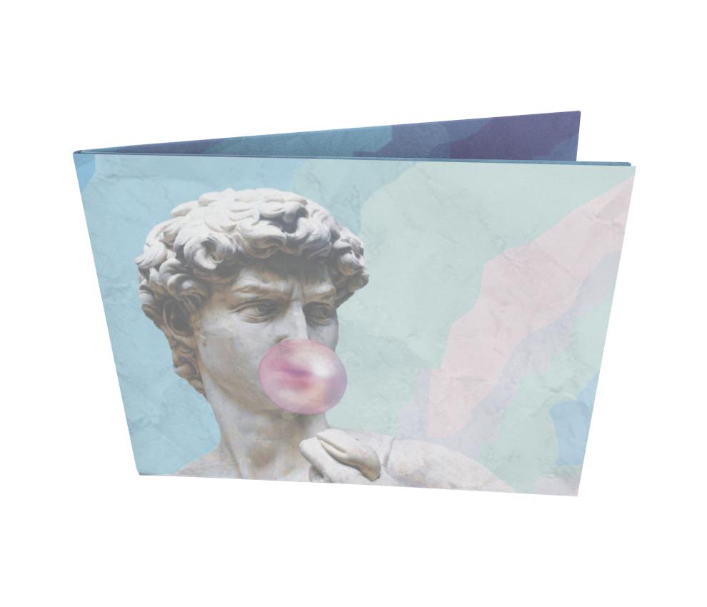 dobra - Nova Carteira Clássica - Vaporwave