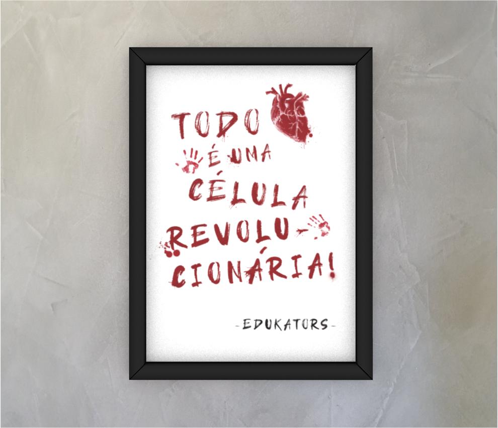 dobra - Quadro - Coração Revolucionário