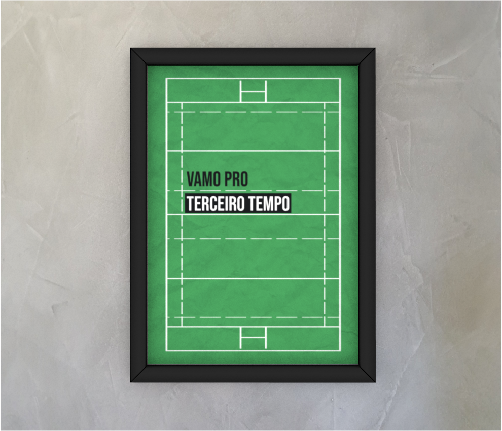 dobra - Quadro - Rugby - Terceiro Tempo