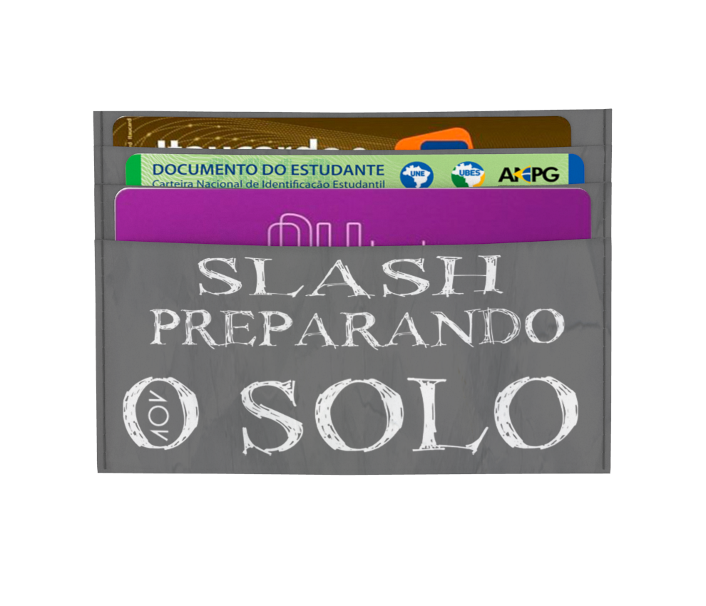 dobra - Porta Cartão - Preparando o Solo