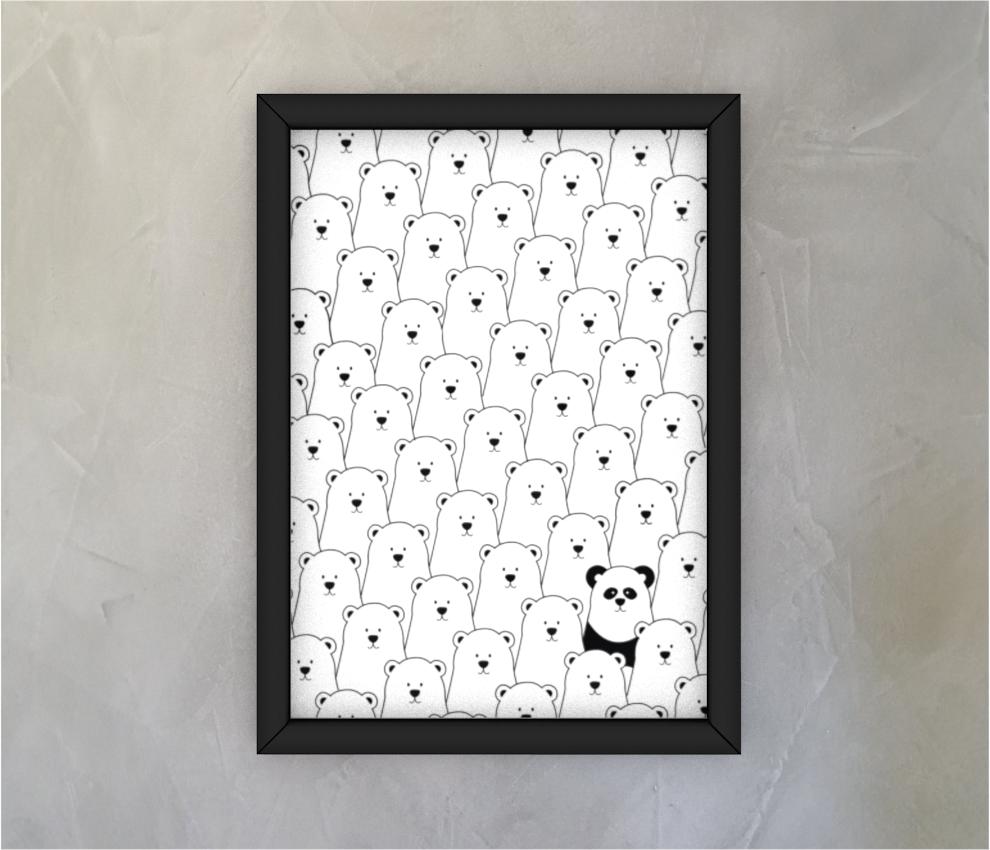 dobra - Quadro - Panda Intruso