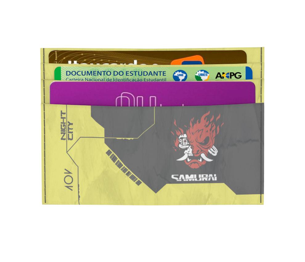 dobra - Porta Cartão - Cyberpunk - Dobra 2077