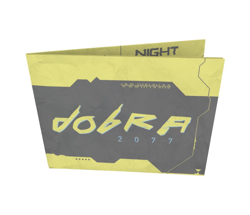 dobra - Nova Carteira Clássica - Cyberpunk - Dobra 2077