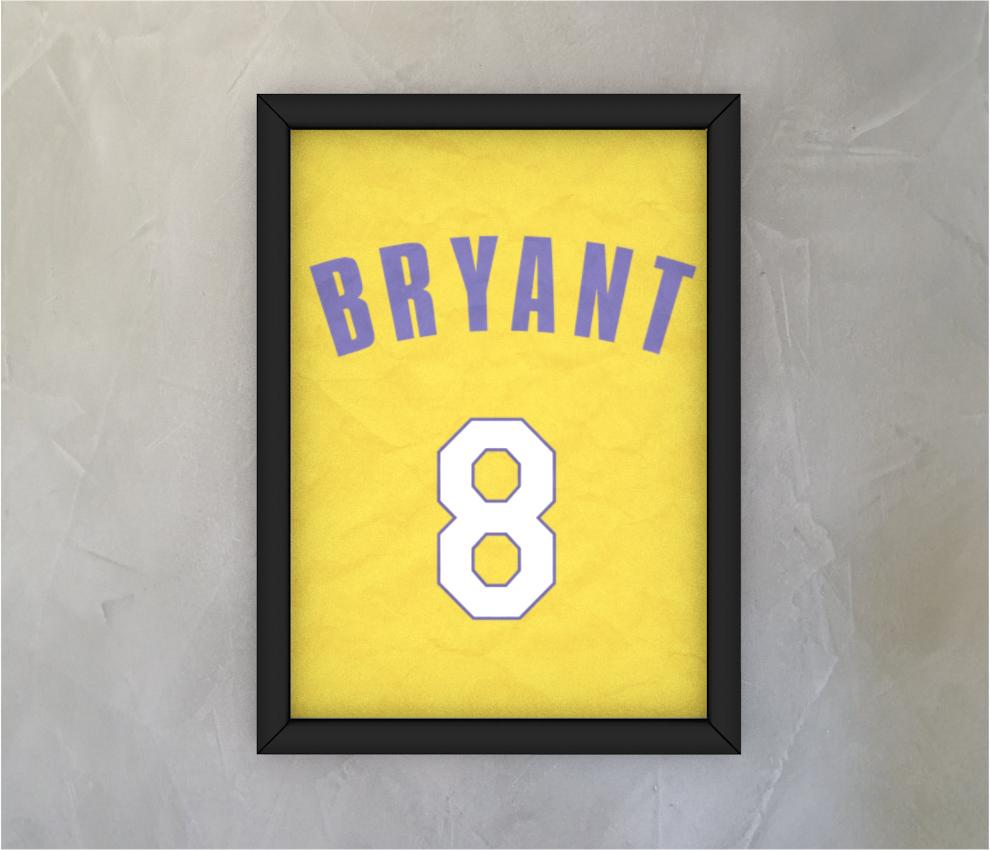 dobra - Quadro - Kobe #8