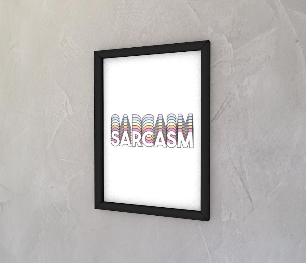dobra - Quadro - Sarcasm