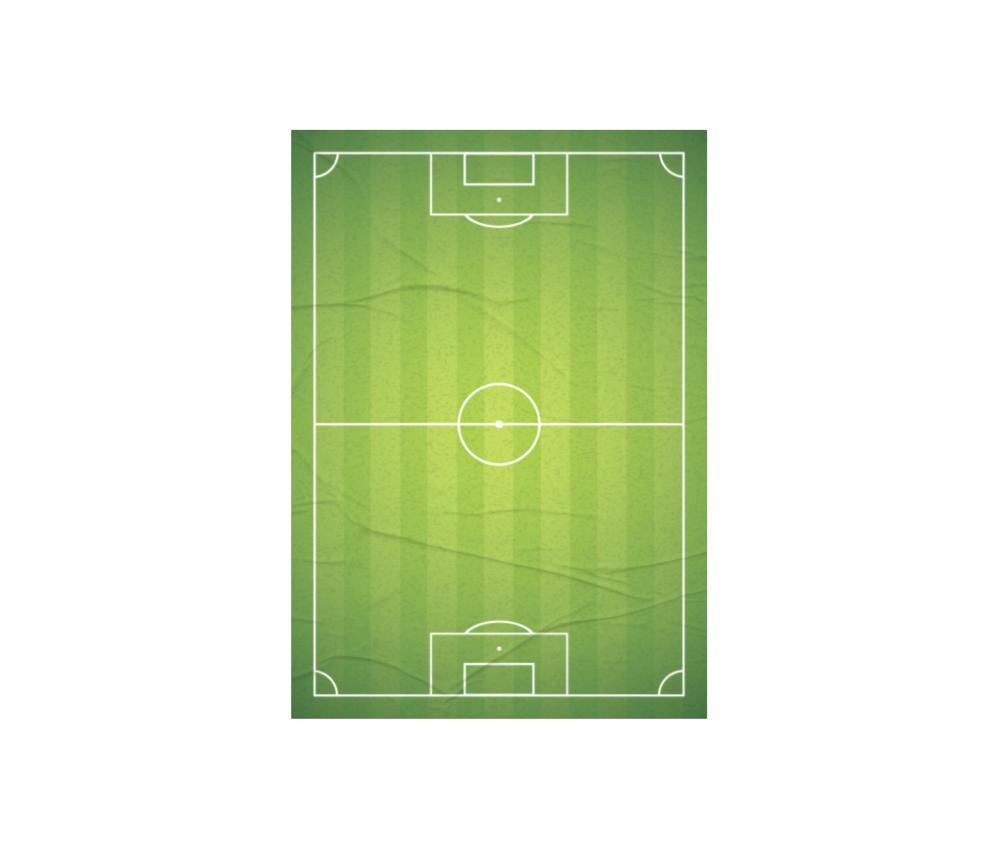 dobra - Lambe Autoadesivo - Campo de Futebol