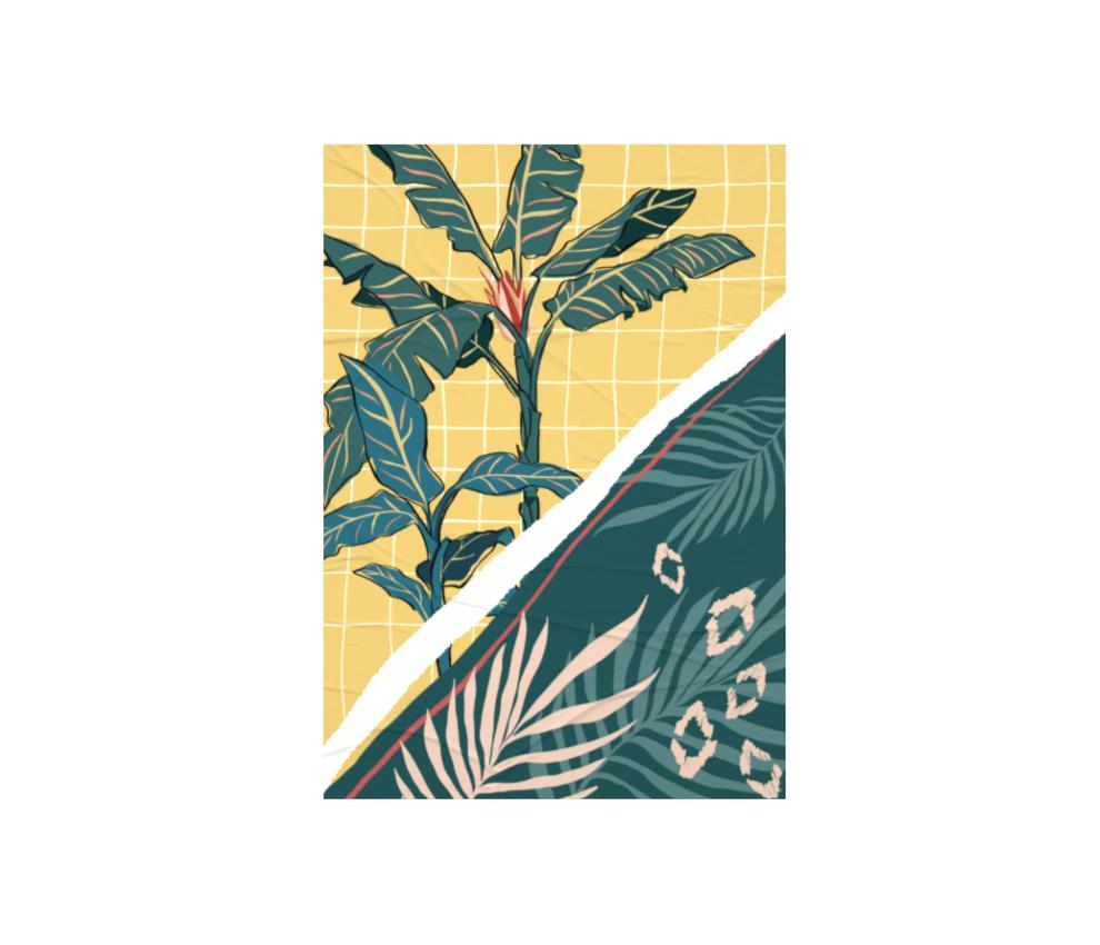 dobra - Lambe Autoadesivo - Tropical Dream