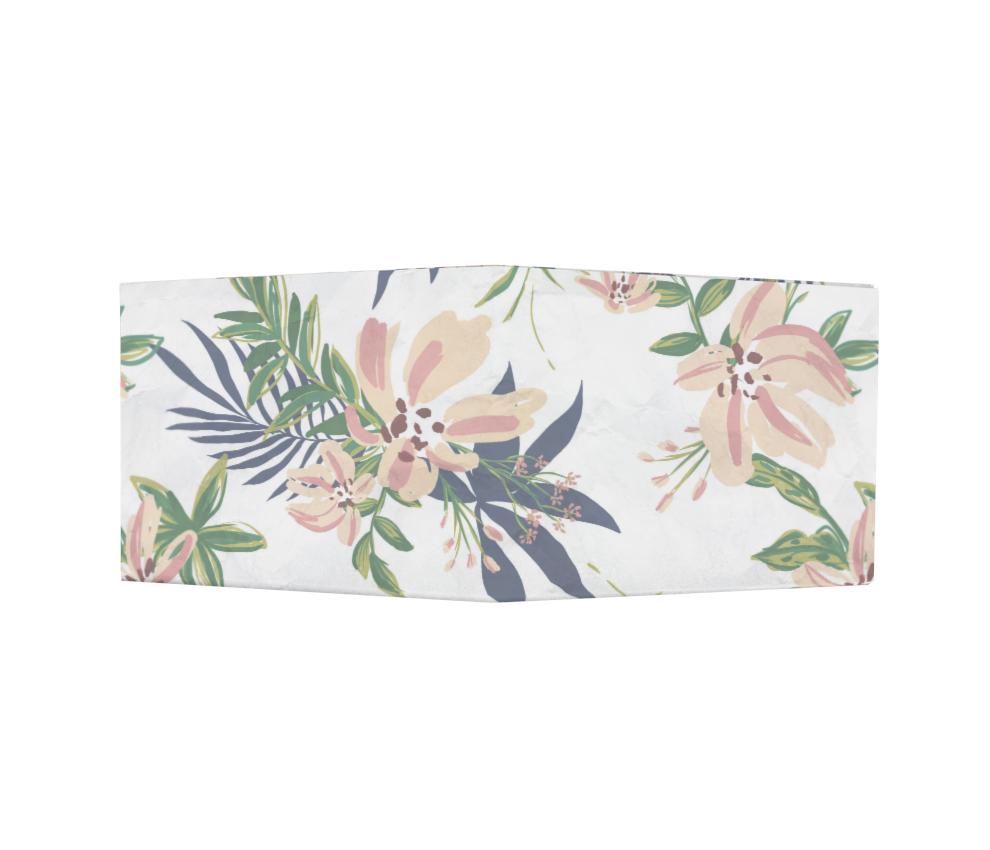 dobra - Nova Carteira Clássica - Floral Romântico