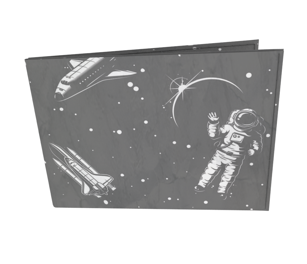 dobra - Carteira Old is Cool - Spaceman
