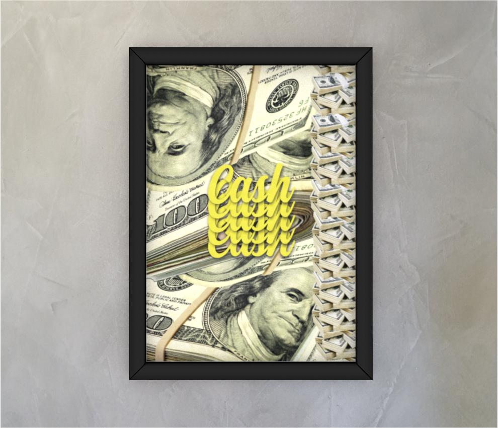dobra - Quadro - Dólar