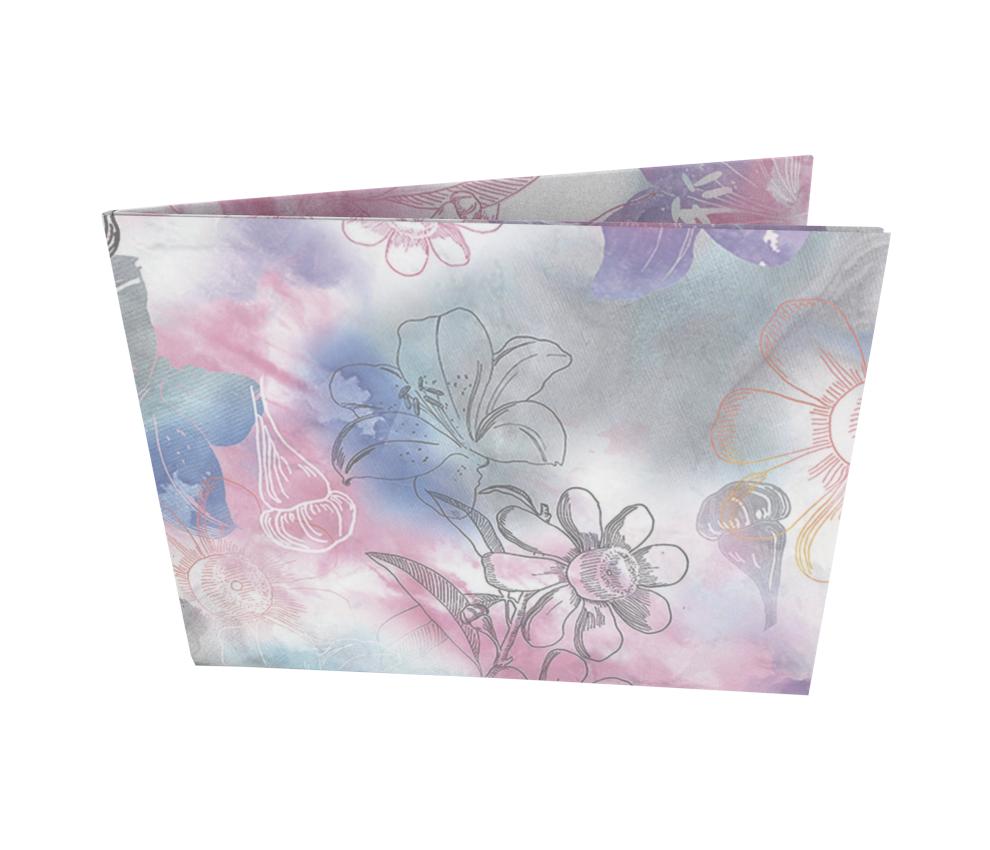 dobra - Nova Carteira Clássica - Flores e Mais Flores