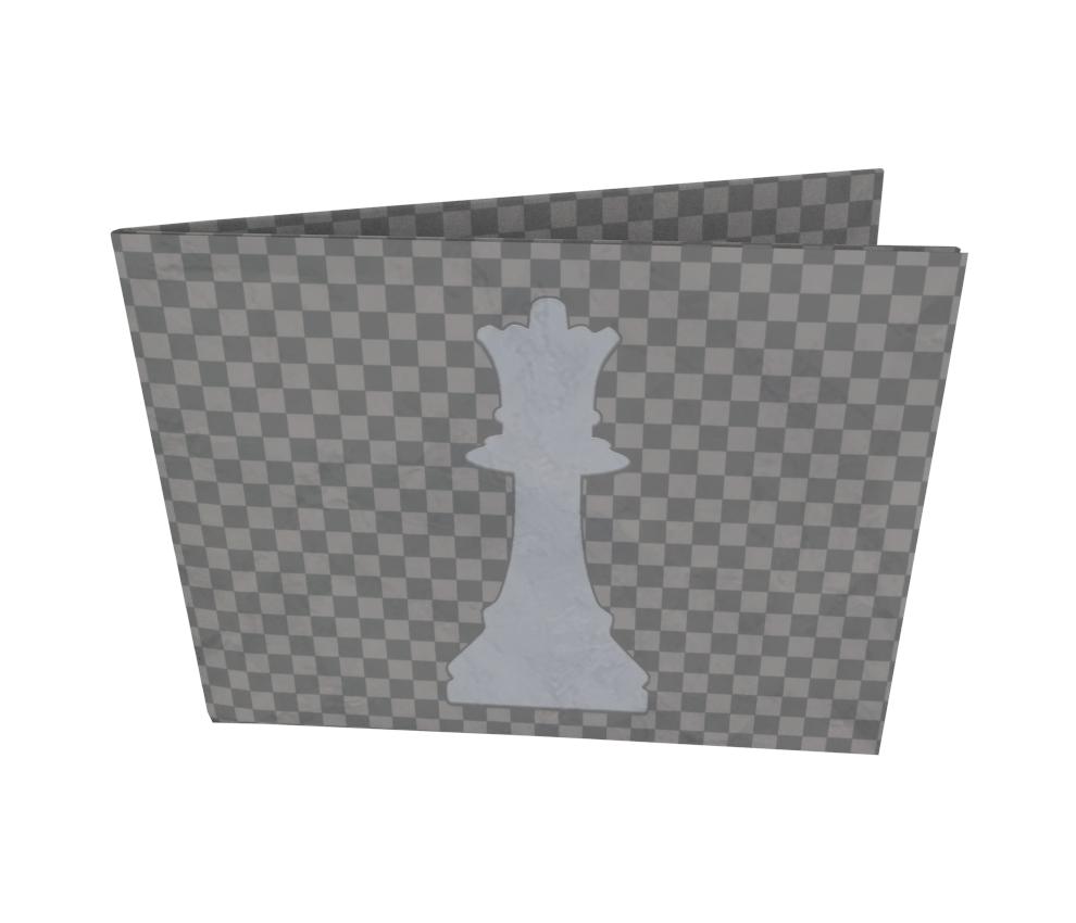 dobra - Nova Carteira Clássica - Gambito da Rainha (Dama)