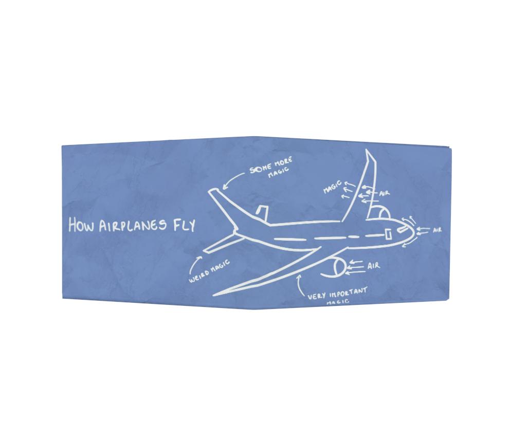 dobra - Nova Carteira Clássica - How Airplanes Fly