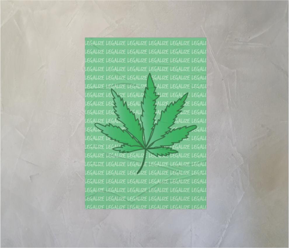 dobra - Lambe Autoadesivo - Legalize