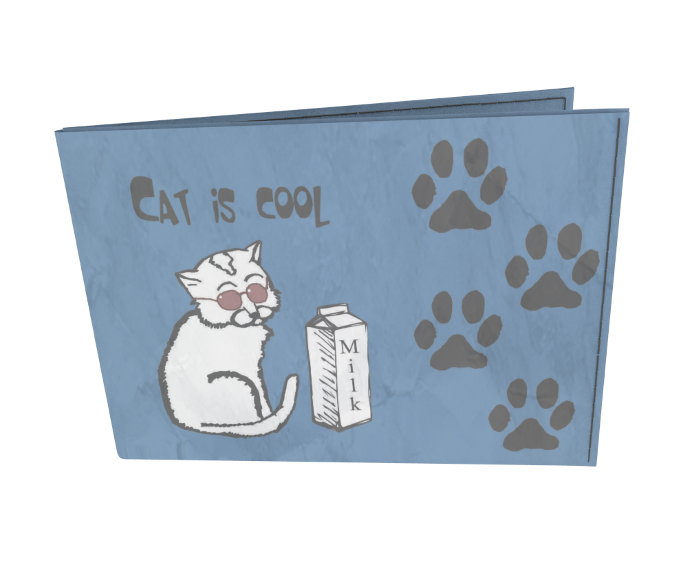 dobra - Carteira Old is Cool - Cat is cool