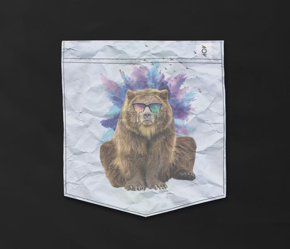 dobra - Bolso - Urso doidão