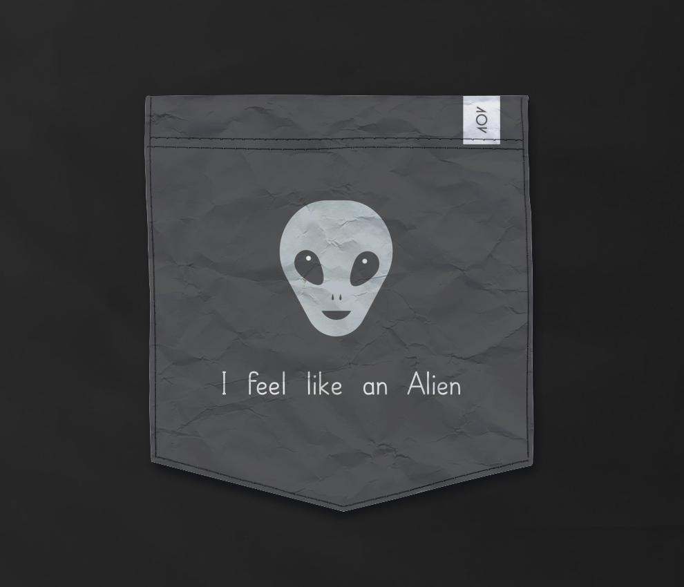 dobra - Bolso - Sou um Alien Diferenciado