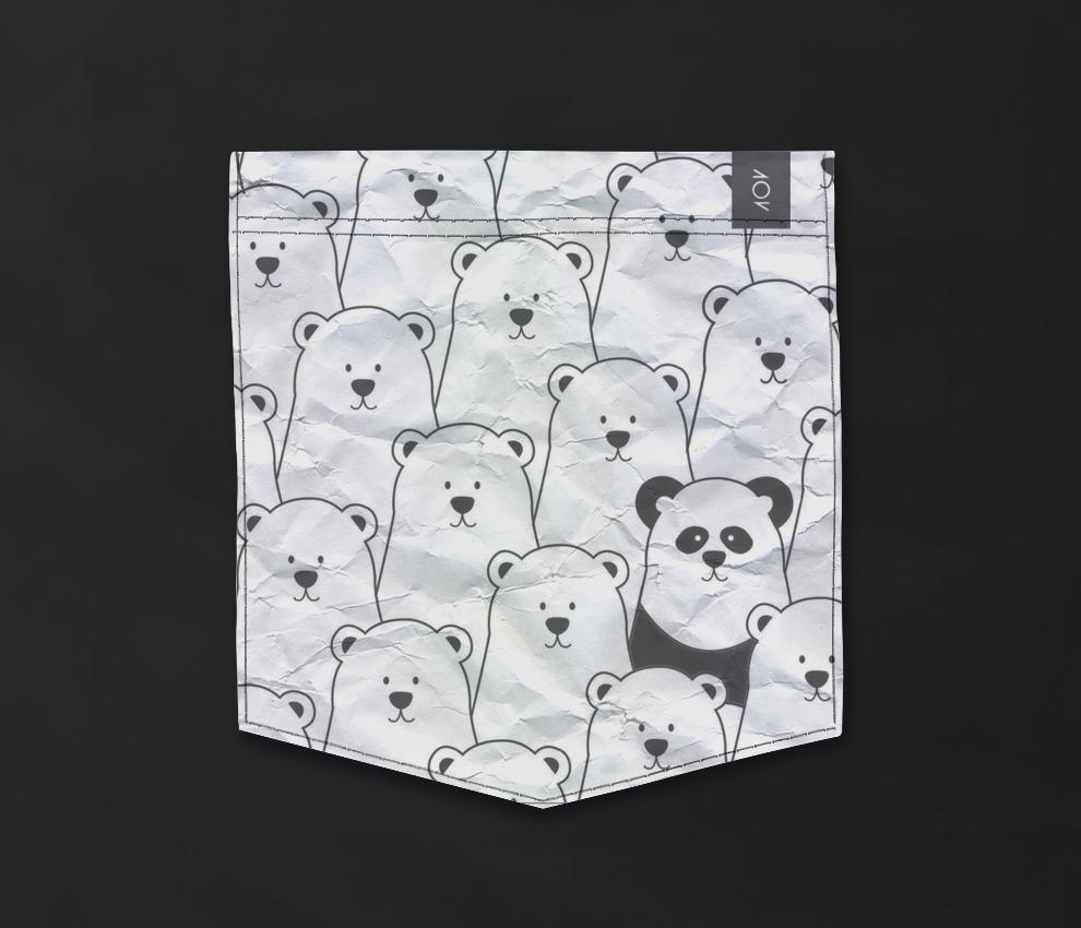 dobra - Bolso - Panda Intruso