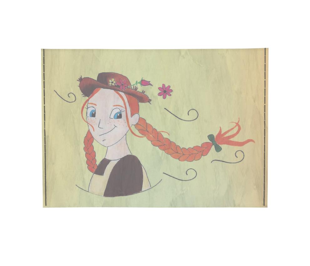 dobra - Porta Cartão - A garota ruiva