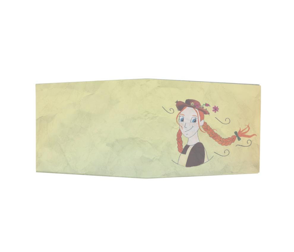dobra - Nova Carteira Clássica - A garota ruiva
