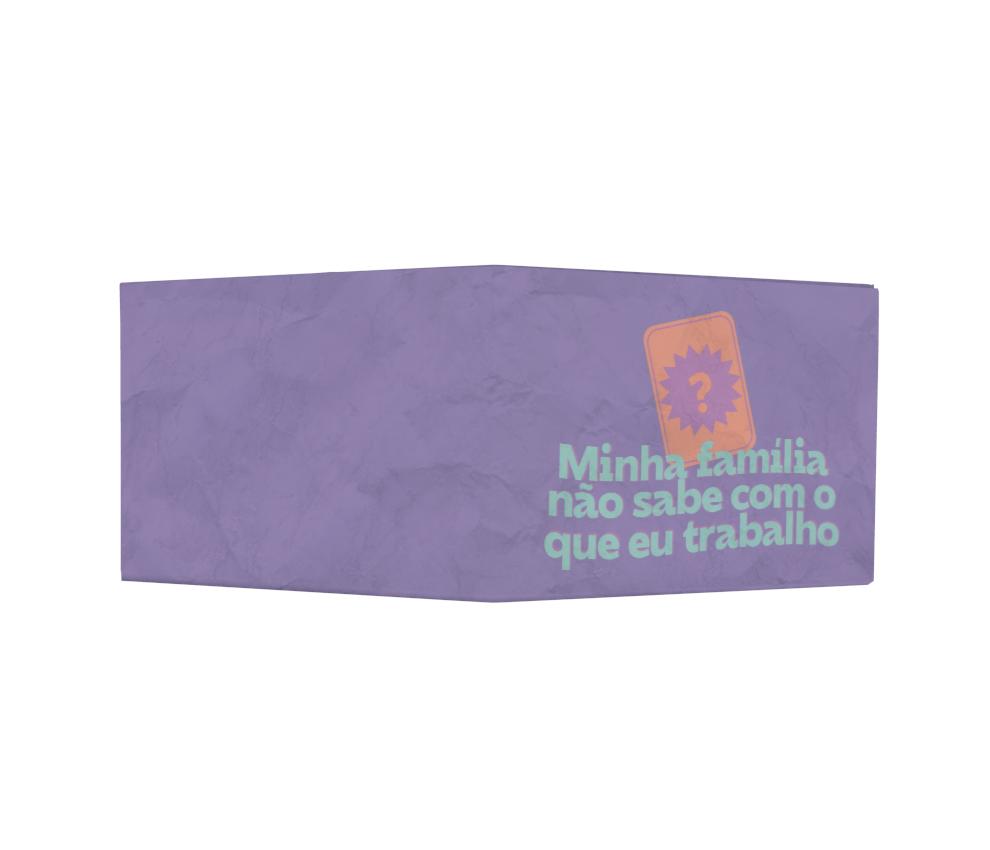 dobra - Nova Carteira Clássica - Share - carta roxa