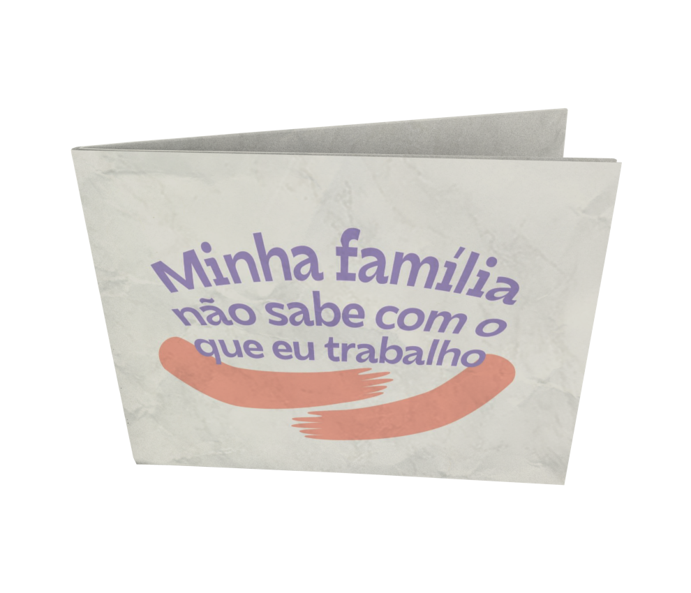 dobra - Nova Carteira Clássica - share - minha família bege